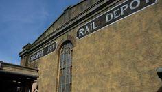 GRP Brick Effect Cladding Panels - Derren Brown's Ghost Train - Thorpe Park