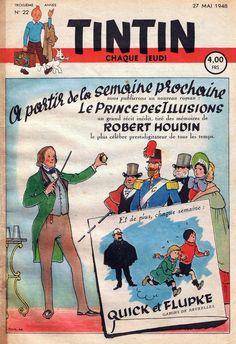 Le Journal de Tintin - Edition Belge - N° 88 - 1948-22 - Jeudi 27 Mai 1948 - Couverture : Jacques Laudy & Hergé