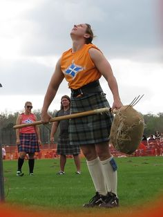 """opalescent-potato: """" thefrozenrose: """" hieronyma: """"Scottish women of the Highland Games–kicking ass, wearing kilts and making you swoon. Scottish Highland Games, Scottish Highlands, Scottish Women, Pictish Warrior, Men In Kilts, Breath In Breath Out, My Heritage, Tartan, Plaid"""