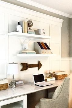 Eclectic home office alison Designer Use Spare Wall In Your House To Create Fabulous Office Area Small Spaces One Kings Lane 77 Best Home Office Images In 2019 Desk Desk Ideas Home Office Decor
