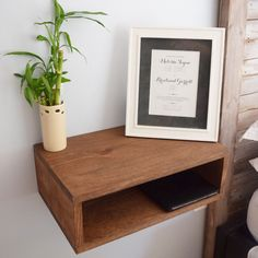 Floating Nightstands/Bedside Tables (pair of two) by 32BelowDesigns on Etsy https://www.etsy.com/listing/266153322/floating-nightstandsbedside-tables-pair