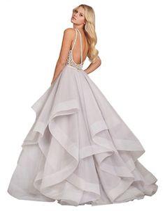 Kleinfeld Canada - Hailey Paige Dori Ball Gown back