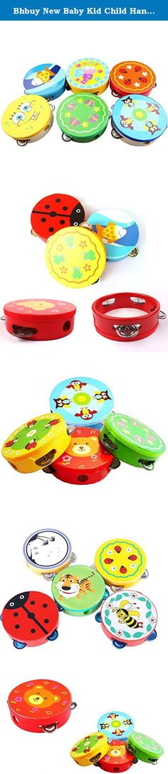 Bhbuy New Baby Kid Child Handbell Rattles Clap Drum Tambourine Toy Musical Instrument. Feature: 100% Brand new and high quality. Cartoon animals pattern , colorful Help to develop kids hand coordination There are four pairs metal discs in the side Putting one finger into the hole then shake it rhythmically Slapping surface of Tambourine, you would hear other sound Themore interesting and loudly, the more Tambourine played at the same time Specification: Material: Wooden, artificial…