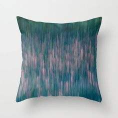 Very lovely abstract pillow in teal and pink colors for your modern home decor.  *✿ ✿*• Description: - 100% spun polyester fabric - printed with the
