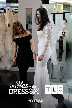 The big reveal! 'Like' if you'd say Yes to this dress.  Say Yes To the Dress UK, Fridays at 9pm on TLC! #SYTTDUK