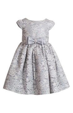 Kleinfeld Pink 'Chiara' Lace Dress (Baby Girls) available at #Nordstrom