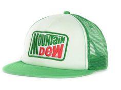 Mountain Dew Logo Soda Foam Trucker Hat Cap Snapback Adjustable One Size Adult College Hats, Mountain Dew, Caps Hats, Cool Shirts, Snapback, Soda, Baseball Hats, Soft Drink, Pepsi