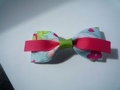 perfect Spring and Easter bows by Krapfl Girl on Etsy