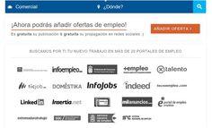 Twiwok es un buscador gratuito de ofertas de empleo. Lo interesante es que busca empleos simultáneamente en 20 populares portales especializados.
