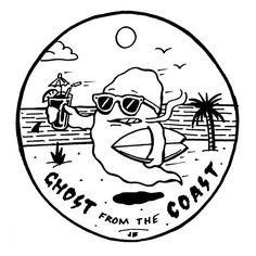 Ghost from the Coast ~ Jamie Browne jamiebrowneart.com