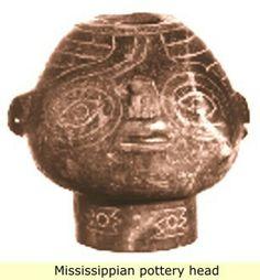Figurative ceramic, Mississippian culture