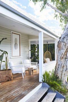 24 Top a frame front porch ideas on Noonprop8.com #Porch #Deck #Patio #Garden #Home