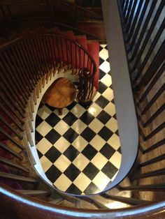 INSIDE THE HARVARD FACULTY CLUB, STAIRS, so cool!! DOWNSTAIRS WERE THE CHANTS OF THE FRATERNITY~House of History, LLC.
