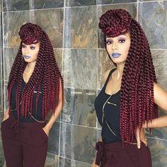 ombre Havana Mambo Twist | Ombre And Mixed Havana Mambo Twist Crochet Braid Hair…