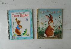 A Little Golden Book Home for a Bunny and The Tale by HomeEcClass