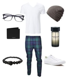 """""""Caprice"""" by mvictorio on Polyvore featuring Dsquared2, Converse, Dakine, Alexander McQueen, Yves Saint Laurent, Michael Kors, men's fashion and menswear"""