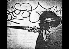 RAMMELLZEE as a gangsta