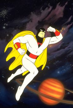 Space Ghost - My ALL TIME favorite Super Hero.