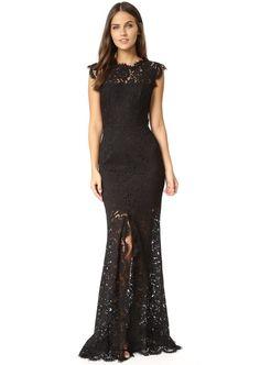 She Wore a Black Lace Dress by Diane von Furstenberg