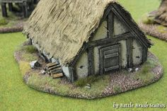 Battle Brush Studios: Tutorial: My Kind of Town - The Making of a Dark Ages/Medieval village