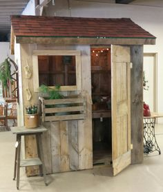 primitive garden shed available at antique mercantile jackson michigan 1200 - Garden Sheds Michigan