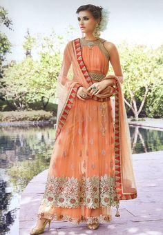 b0af3ced9557a Latest Anarkali Suits, Online Dress Shopping, Indian Dresses, Brocade  Lehenga, Anarkali Lehenga