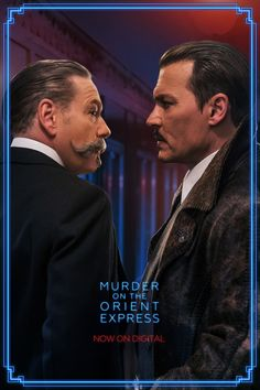 Watch Kenneth Branagh & Johnny Depp in Murder on the Orient Express now on Digital.