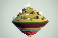 Qualcomm- Shoulda Shoulda by Peter Tarka, via Behance