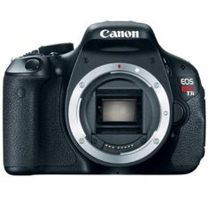 Canon EOS Rebel Digital SLR Camera (Body Only) Renew Your Creative Soul Photo enthusiasts rejoice! The new flagship of the spectacular Rebel Line, the EOS Camera Digital Canon, Canon Dslr Camera, Canon Lens, Camera Gear, Digital Slr, Vlog Camera, Focus Camera, Camera Tips, Leica Camera