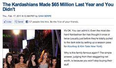 dear god. when will the kardashians just go away?!