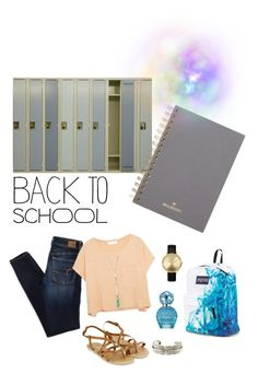 """""""School with style"""" by simranj on Polyvore featuring Mulberry, American Eagle Outfitters, Elizabeth and James, Nixon, JanSport, Monsoon, Marc Jacobs, Charlotte Russe and Yves Saint Laurent"""