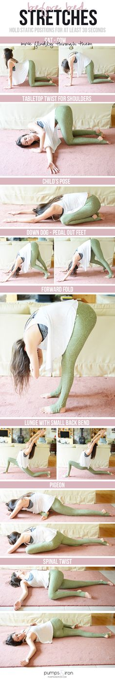 Before-Bed Stretching Routine