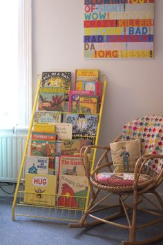 Upcycled Children's Book Shelf