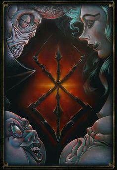 The God Hand by Davide Rapazzini https://www.facebook.com/Rapaz_Art-923073987780653/