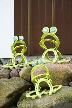 Horseshoe Frogs By: Out Of My Mind Metal Works