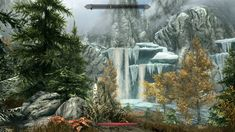 This just became my new desktop background. What a beautiful game. #games #Skyrim #elderscrolls #BE3 #gaming #videogames #Concours #NGC