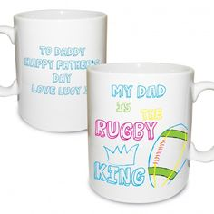 Rugby King Mug | Mugs | Exclusively Personal