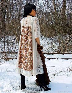 Платье с кружевом из коллекционной шерсти (337) – купить в интернет-магазине на Ярмарке Мастеров с доставкой - FEJTZRU | Одесса