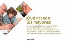 Cursos y talleres gratuitos para personas mayores de 50 años
