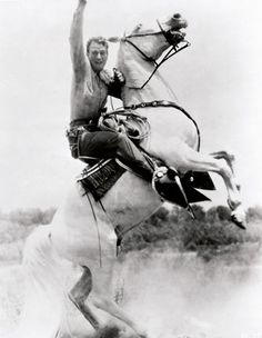 "photo from new book: ""John Wayne: The Legend And The Man"""