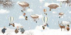 Little Hands Wallpaper - Flying
