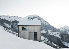 Bernado Bader Architects are pro's at talking simplicity and connecting to the surrounding environment. We saw it with the Austrian Contemporary Barn and we're seeing it again with Haus Fontanella. …See the full story