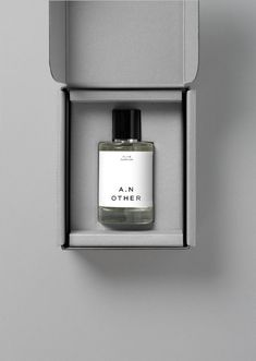 Graphic Identity for A.N Other by Socio Design — BP&O Graphic identity and package design by Socio Design for luxury fragrance brand A.N OtherGraphic identity and package design by Socio Design for luxury fragrance brand A. Skincare Packaging, Perfume Packaging, Candle Packaging, Bottle Packaging, Cosmetic Packaging, Luxury Packaging, Jewelry Packaging, Design Packaging, Coffee Packaging