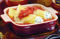 Tomato Basil Cannelloni | Recipes & Tips | Mezzetta.com | Don't Forgetta Mezzetta
