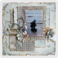 .:Memories:. - Scrapbook.com  Like the layered papers by kajsan