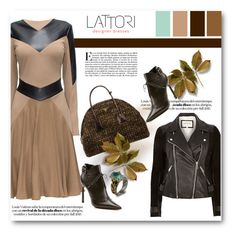 """Lattori dress"" by svijetlana ❤ liked on Polyvore featuring moda, Lattori, Lanvin, Emma Chapman, polyvoreeditorial y lattori"