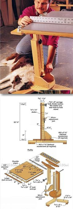 DIY Outfeed Support - Table Saw Tips, Jigs and Fixtures | WoodArchivist.com