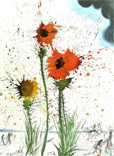 Spring Explosive, Salvadore Dali