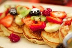 desayuno saludable y light