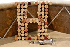 Looking for something easy to do with all your wine corks?